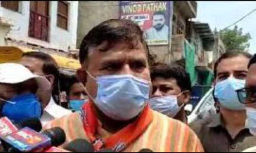 राहुल गांधी के पास ना कोई जमीन है ना जनाधार : ऊर्जा मंत्री तोमर
