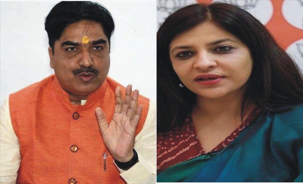 भाजपा ने शाजिया इल्मी और प्रेम शुक्ला को दी बड़ी जिम्मेदारी, बनाया राष्ट्रीय प्रवक्ता