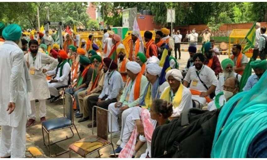 जंतर-मंतर पर किसान संसद का आयोजन शुरु, पुलिस ने 200 किसान को अनुमति दी