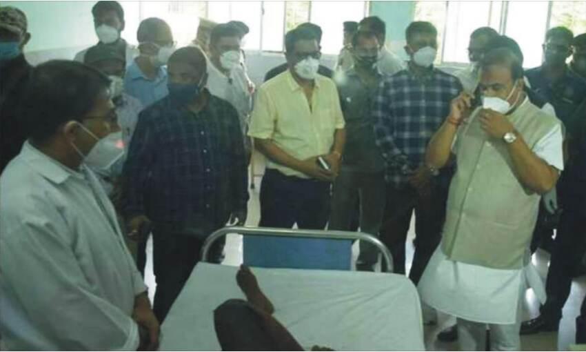 असम-मिजोरम सीमा विवाद के बाद सीआरपीएफ तैनात, सीएम ने घायलों से की मुलाकात