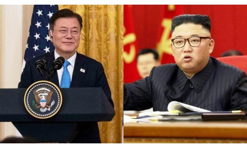 उत्तर और दक्षिण कोरिया के बीच 13 महीने बाद संचार लाइनें बहाल हुई