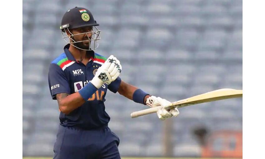 क्रुणाल पंड्या हुए कोरोना संक्रमित, भारत-श्रीलंका मैच हुआ रद्द