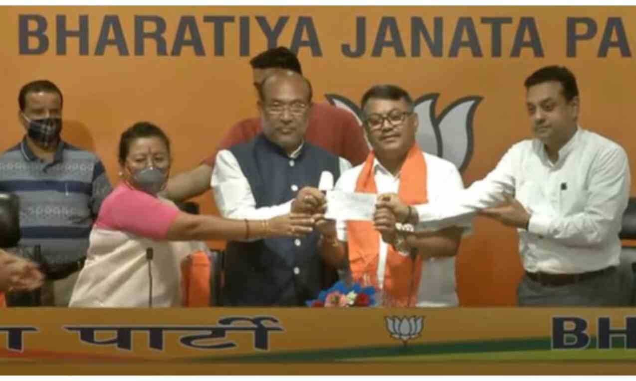 मणिपुर विधानसभा चुनाव से पहले कांग्रेस को झटका, पूर्व प्रदेश प्रमुख भाजपा में शामिल