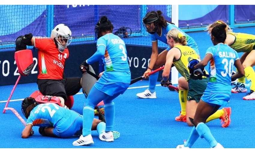 ओलंपिक : महिला हॉकी टीम ने रचा इतिहास, पहली बार सेमीफाइनल में किया प्रवेश
