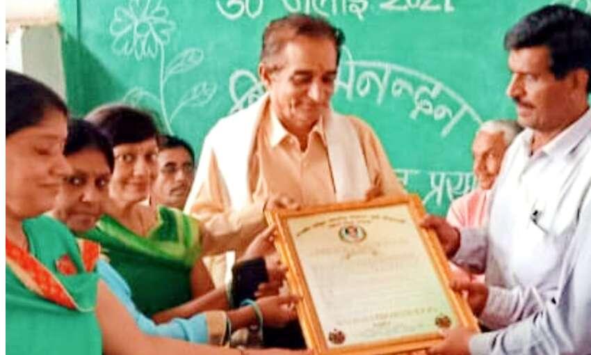 गुरु श्री शर्मा का अभिनंदन