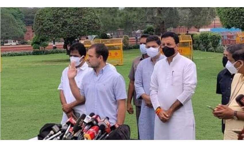 राहुल गांधी ने विपक्षी दलों के नेताओं को नाश्ते पर किया आमंत्रित, रणनीति बनाने पर चर्चा
