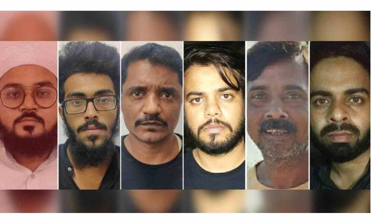 पाकिस्तान से संचालित आतंकी गिरोह का खुलासा, 6 आतंकवादी गिरफ्तार