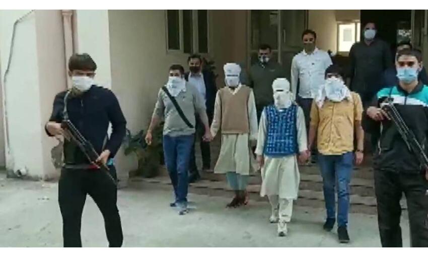 14 दिनों की पुलिस रिमांड पर भेजे गए 4 आतंकी, निशाने पर थे दिल्ली समेत कई बड़े शहर