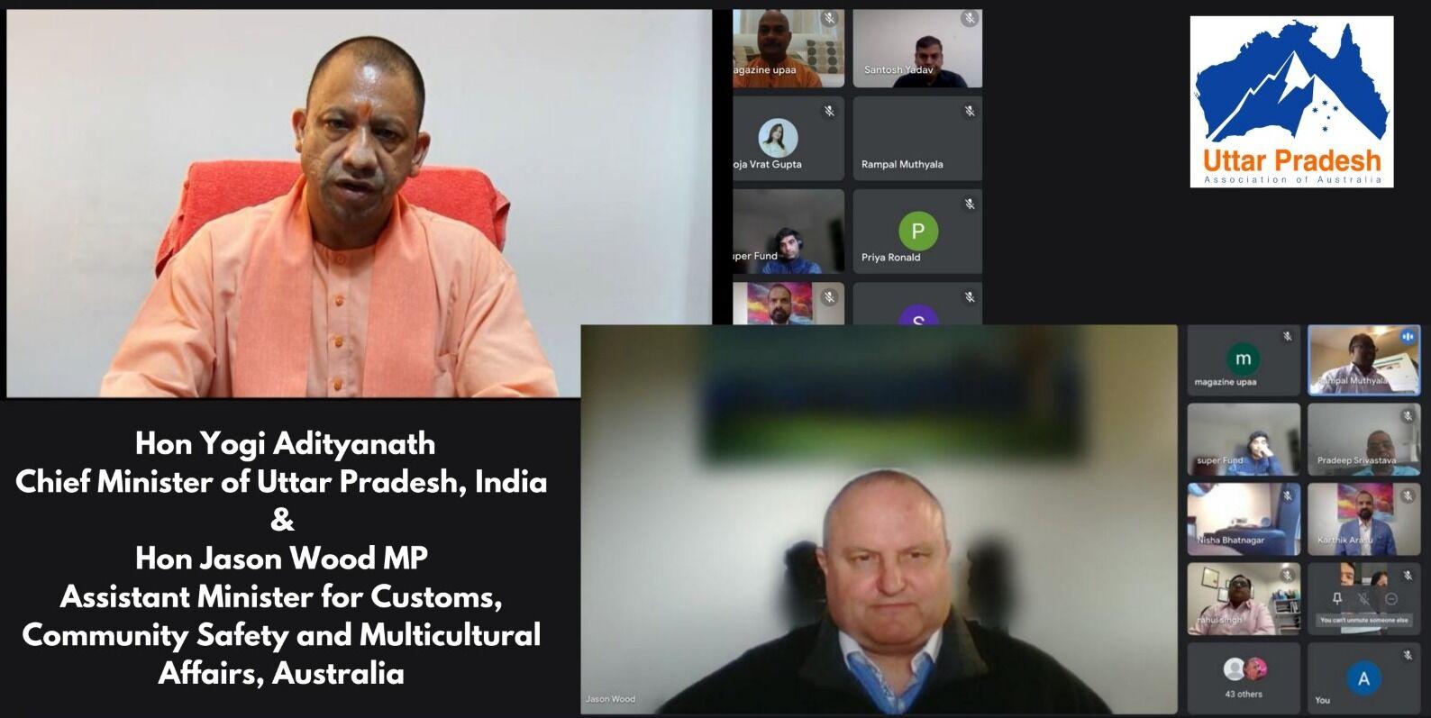 देश के बाद विदेश में भी मुख्यमंत्री योगी के कोविड प्रबंधन के प्रशंसक, ऑस्ट्रेलियाई मंत्री ने की तारीफ