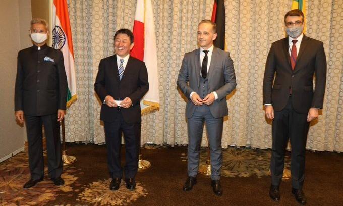 भारत समेत G4 देशों के विदेश मंत्रियों ने मुलाकात की, सुरक्षा परिषद में सुधारों पर दिया जोर