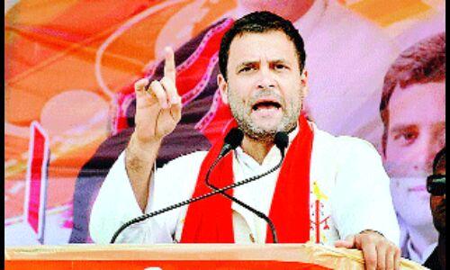 मन्दसौर के कार्यक्रम में दिए कड़े संकेत   मध्यप्रदेश में संगठन की कसावट के मूड में हैं राहुल गांधी