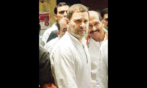 मानहानि मामले में राहुल गांधी पर आरोप तय