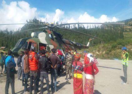 हिल्सा में फंसे 200 मानसरोवर तीर्थयात्रियों को सुरक्षित निकाला गया,  बचाव युद्धस्तर पर जारी