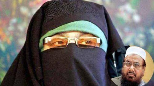 एनआईए ने लश्कर प्रमुख की बहन से की पूछताछ