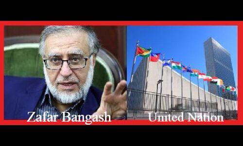 जम्मू-कश्मीर पर यूएन की रिपोर्ट बनाने के पीछे  पाकिस्तानी हाथ सामने आया