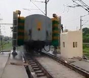 सिर्फ 8 मिनट में धुलेगी एक ट्रेन, पानी और वक्त की होगी बचत