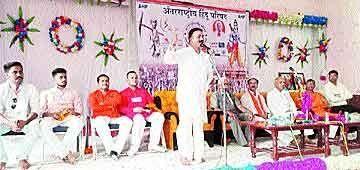 अयोध्या में मंदिर निर्माण के लिए संसद में कानून बनाने की मांग