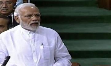 कांग्रेस देश में अस्थिरता और निराशा फैला रही है : प्रधानमंत्री