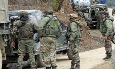 कुपवाड़ा में सेना के गश्ती दल पर हुआ आतंकी हमला, तलाश जारी