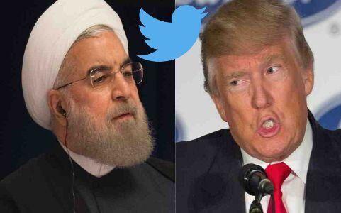 अमेरिकी राष्ट्रपति ट्रंप ने रूहानी को दी ट्विटर पर धमकी