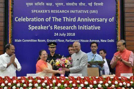 राष्ट्रपति रामनाथ कोविंद ने सांसदों को दिया 5-डी का फार्मूला