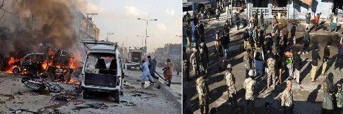 क्वेटा में हुआ बम धमाका, 22 मरे, 30 घायल