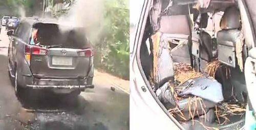 एआईडीएमके के पूर्व नेता की कार पर हुआ हमला, तीन घायल