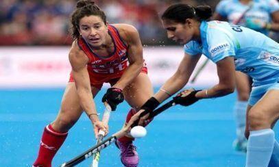 महिला हॉकी विश्व कप : क्वार्टरफाइनल में पहुंची भारतीय टीम, अमेरिका से 1-1 से ड्रा खेला