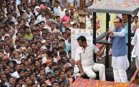 मुख्यमंत्री शिवराज ने कहा - किसानों की समृद्धि के लिए कोई कसर नहीं छोड़ेगी सरकार