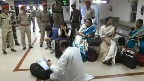 सिलचर एयरपोर्ट : 17 घंटे तक रोके रखे जाने के बाद कोलकाता लौटा तृणमूल का प्रतिनिधिमंडल
