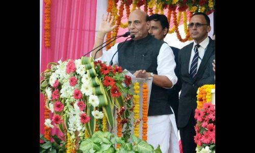 गृहमंत्री राजनाथ सिंह ने कहा - कृषि, किसान व गांव देश की अर्थव्यवस्था की रीढ़