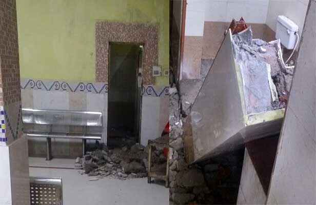पटना जंक्शन : प्लेटफॉर्म-एक के प्रतीक्षालय की बाथरूम की दीवार गिरी, यात्री की मौत