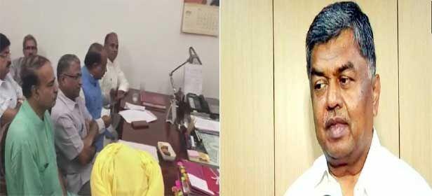 राज्यसभा उपसभापति चुनाव : एनडीए से हरिवंश सिंह ने नामांकन भरा, कांग्रेस के उम्मीदवार होंगे बीके हरिप्रसाद