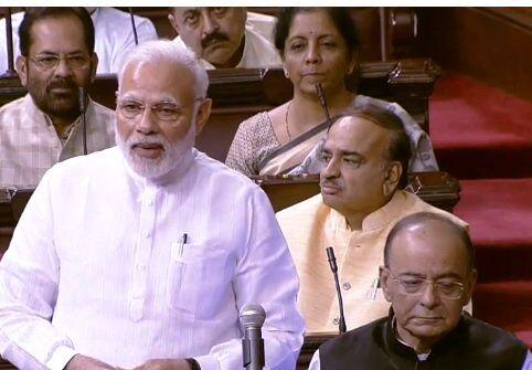 राज्यसभा : सदन में सब कुछ हरि के भरोसे - प्रधानमंत्री