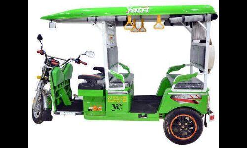 ईरिक्शा वाले वाहनों पर होगी हरे रंग की प्लेट