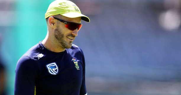फाफ डू प्लेसी जिम्बाब्वे के खिलाफ श्रृंखला में नहीं खेलेंगे