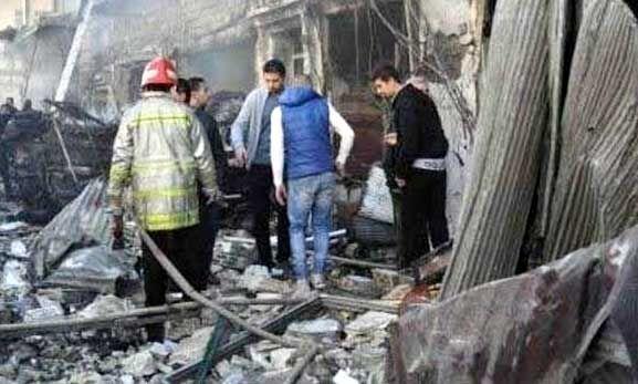 सीरिया में हुए धमाके, 39 मरे