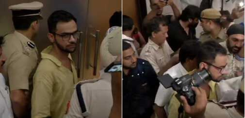 दिल्ली : जेएनयू के छात्र उमर खालिद को मारी गोली, बाल-बाल बचे