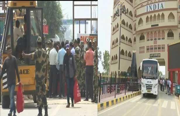 पाक से रिहा होकर तीस कैदी पहुंचे भारत