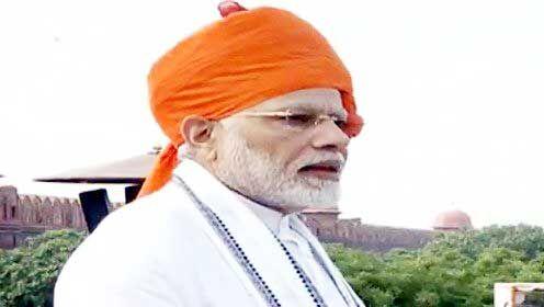 लालकिले से पीएम मोदी बोले - भारतीय अर्थव्यवस्था के बारे में दुनिया कहने लगी, सोया हाथी जाग गया
