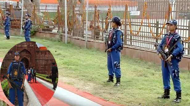 स्वतंत्रता दिवस पर लाल किले की सुरक्षा की कमान स्वाट महिला कमांडो ने संभाली