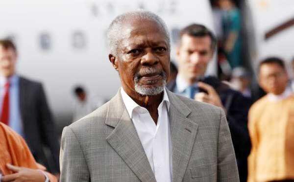 यूएन के पूर्व महासचिव कोफी अन्नान का हुआ निधन
