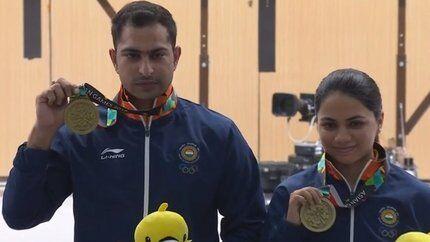 एशियाई खेलों में अपूर्वी-रवि ने भारत को दिलाया पहला पदक