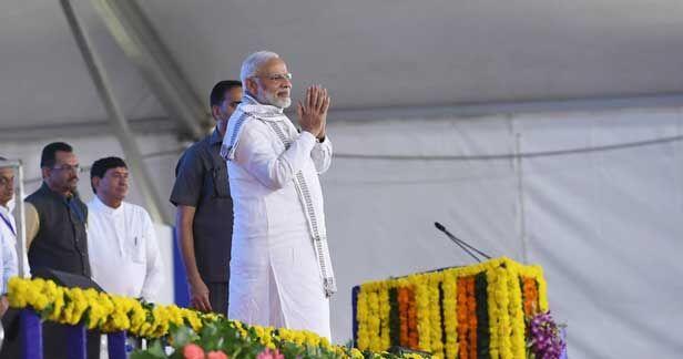 मंदसौर दुष्कर्म मामला : प्रधानमंत्री  मोदी ने की कानून व्यवस्था की तारीफ