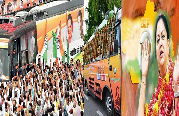 राजस्थान : बीजेपी की गौरव व कांग्रेस के संकल्प के बीच मारवाड़ में चुनावी शंखनाद