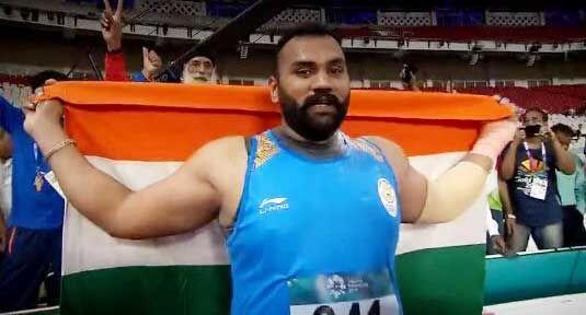 Asian Games 2018 : तजिंदर पाल सिंह ने भारत को दिलाया सातवां स्वर्ण