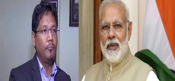 पीएम मोदी ने मेघालय के मुख्यमंत्री को उपचुनाव में जीत के लिए दी बधाई