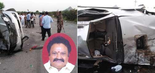 हादसा : सड़क दुर्घटना में टीडीपी नेता एवं पूर्व सांसद हरिकृष्णा का निधन