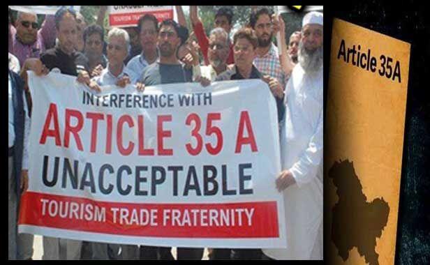 अनुच्छेद 35ए : जेआरएल का कश्मीर बंद, जनजीवन अस्त व्यस्त