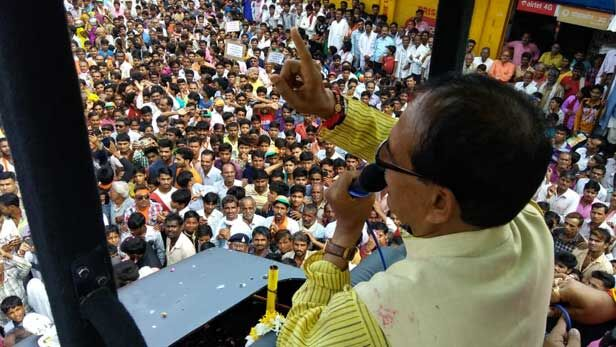 शिवराज ने कहा - समाप्त हो चुका है कांग्रेस का राजनीतिक शिष्टाचार